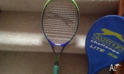 I have a child's Slazenger tennis racquet for sale. It