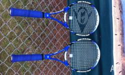 I have a collection of tennis racquets that I would