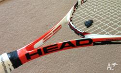 Tennis raquet Head Microgel Radical pro, with new