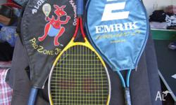 Children's Tennis Racquets as pictured. Now selling