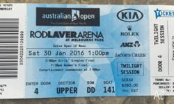 Women's Final at Rod Laver Arena today at 30/01/16.