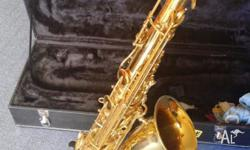 Great sounding Tenor Sax. Recently serviced by Julian