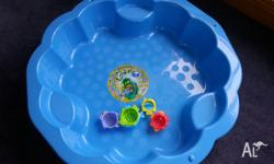 For Sale toys: 1) Play- Tent 2) Baby Toys: Music-Ball,