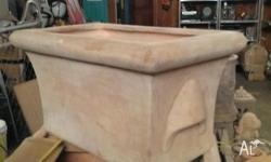 This great planter box is 800mm long by 500mm wide and
