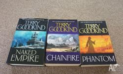 Naked Empire - Hard Cover Chainfire - Paperback Phantom