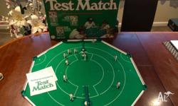 Test Match Cricket Board Game - Original $30 perfect