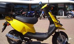 TGB,101S,2008, Yellow, SCOOTER, 49cc, VARIABLE SPEED