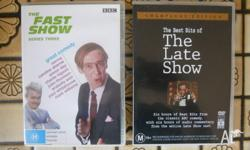 The Best Bits of The Late Show (2 DVD Set). Region 4.