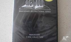 """The Book"" Wakeboard Instructional DVD 5 Disc Set New"