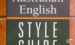 'The Cambridge Australian English Style Guide' by Pam