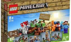 LEGO Minecraft The Crafting Box 21116 BRAND NEW SEALED