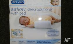 New in unopened box the first years air flow sleep