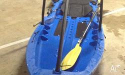 BARGAIN - PRICE REDUCED!!! THIS IS A $1200 KAYAK PLUS