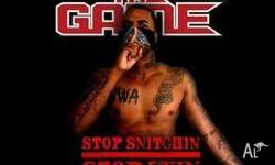 THE GAME RAPPER DVD USED