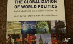 THE GLOBALIZATION OF WORLD POLITICS An introduction to