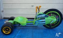 Green Machine. Was not used much Green Machine is the