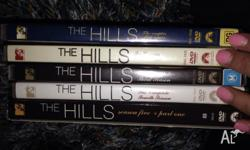 I'm selling my DVD seasons 1-6 of the hills.. :) Moving