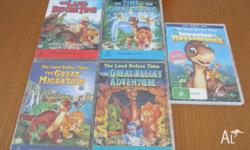 I have FIVE Land Before Time DVD's. The Land Before