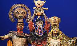 3 tickets to see the amazing Lion King at Regent