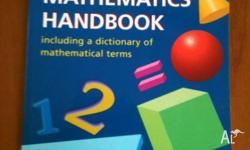 maths book - handy for all ages, defines math terms