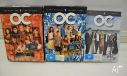 The OC - Seasons 1, 2 and 3 Good condition. Seasons