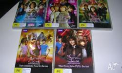 THE SARAH JANE SMITH ADVENTURES DVDS (DR WHO SPIN OFF)