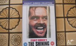 The Shining (1980) Region 2. In excellent condition.