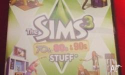 The Sims 3 70s, 80s & 90s Stuff Used but in perfect
