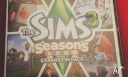 The Sims 3 Seasons Expansion Pack LIMITED EDITION Used