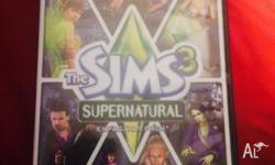 The Sims 3 Supernatural PC Used but in perfect