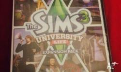 The Sims 3 University Life Expansion Pack Used to