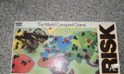 The world conquest game by parker. The box is used but
