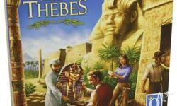 brand new sealed Thebes board game by Queen Games