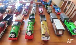 Battery operated Thomas and friends trains all single