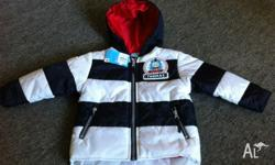 I am selling a size 2 Thomas & friends boys hooded,