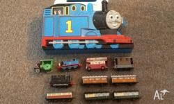 Thomas tank case and die cast metal Thomas and friends