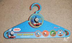 Hi For Sale Thomas Tank coathangers - 4 in pack. Brand