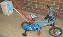 Very good condition Thomas the tank bike with parents