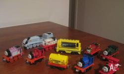 I am selling a mass collection of Thomas wood, diecast,