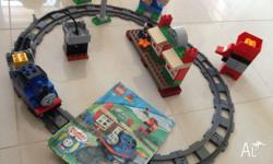 For Sale Thomas the Tank Engine Train Duplo Set.