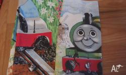 A set of Duvet/Doona Thomas the Tank Engine cover set