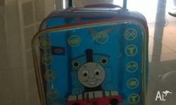 Thoms the Tank Engine suitcase and umbrella for kids in