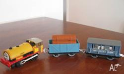 I am selling a massive collection of Thomas trains,