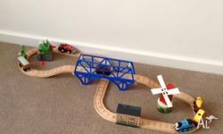 Thomas the tank engine wooden railway,Thomas and Henry