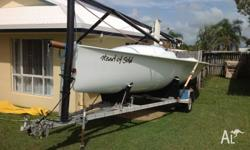 2003 Thompson T750 Sports boat for sale. 24.6 ft. Fun