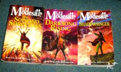 three books from the spellsong cycle by L E Modesitt