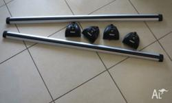 Complete Thule Roof Rack set fits Ford Focus. Purchase