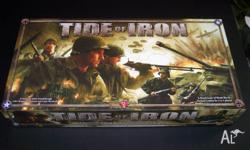 Tide of Iron is a game of World War II tactical