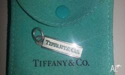 Stunning Tiffany & Co bar pendant charm. Purchased from