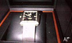 A limited edition Tiger Woods Tag Heuer Watch. I have